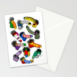 Superhero Weenies Stationery Cards