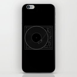 Turntable iPhone Skin