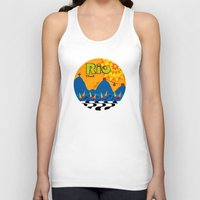 rio Tank Tops featuring Rio 1 by Monica Fuchshuber