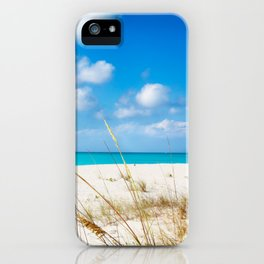 Half Moon Bay dunes, Turks & Caicos iPhone Case