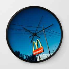 FOR THE BIRDS Wall Clock