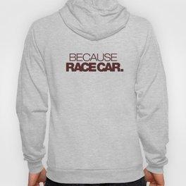 BECAUSE RACE CAR v7 HQvector Hoody