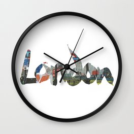 London #4. London (the) Wall Clock