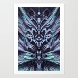 Abstract Anomaly [Popsicle] Art Print
