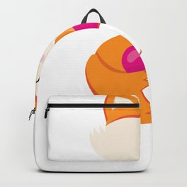 Kids Valentine Fox with Pink Heart Backpack