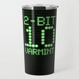 2-Bit Varmint / Binary vermin team code Travel Mug