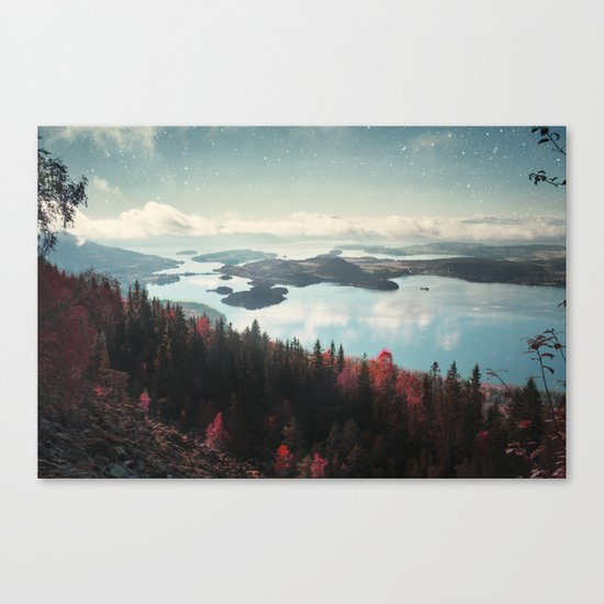 The Fjord Canvas Print
