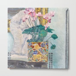 "Charles Rennie Mackintosh ""Cyclamen"" Metal Print"