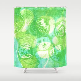 money plant pods Shower Curtain