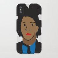 basquiat iPhone & iPod Cases featuring Basquiat by John Sailor