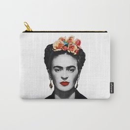 Mexican Beauty Portrait Artwork for Women Men and Kids Carry-All Pouch
