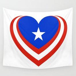 Puerto Rico en el corazón Wall Tapestry