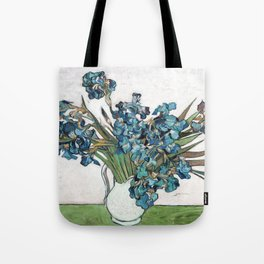 Vincent Van Gogh - Irises (new color editing) Tote Bag