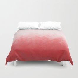 Crimson mist Duvet Cover