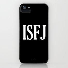 ISFJ iPhone Case