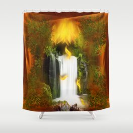 The flower of joy Shower Curtain