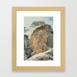 Swiss Mountain Kandersteg 1 Framed Art Print