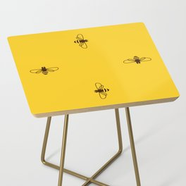 Be safe - save bees Side Table