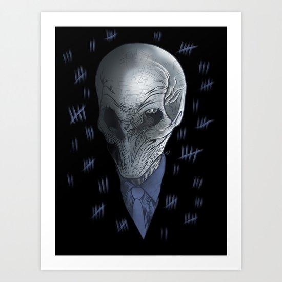 Silent 93 Art Print