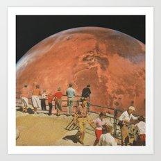 Fourth Planet Art Print