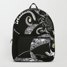 Geometric swirl Backpack