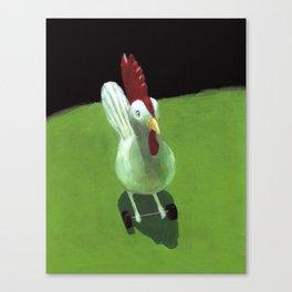 Toy Chicken Canvas Print