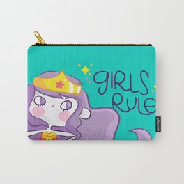 Girls Rule Carry-All Pouch