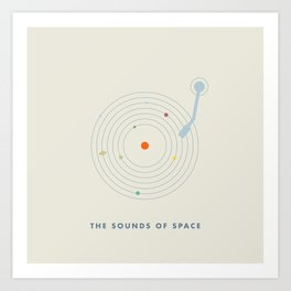 The Sounds of Space II Art Print