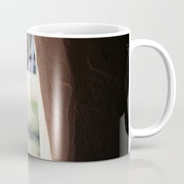 Stucco Window with View at Fort Stanton New Mexico Coffee Mug