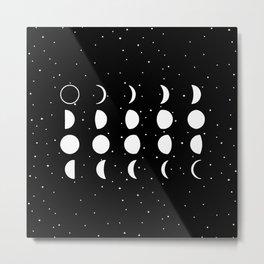 20 Moon Metal Print