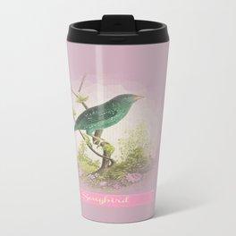 Songbird {dusky lilac} Travel Mug