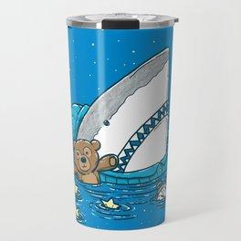 The Sleepy Shark Travel Mug