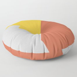 Minimalism Abstract Colors #8 Floor Pillow