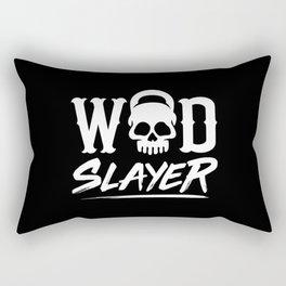WOD Slay er Skull Rectangular Pillow