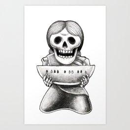 Feed the poor Art Print