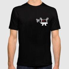 Kromo Tshirt Mens Fitted Tee Black X-LARGE