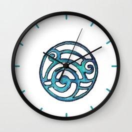 Blue Design 14 Wall Clock