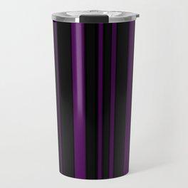 deepPurple Pinstripe Travel Mug