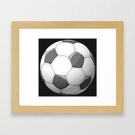 Soccer Ball Framed Art Print