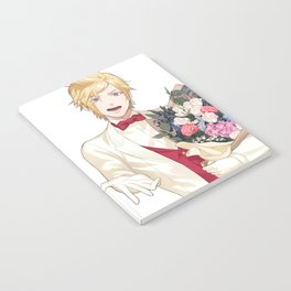Prompto White Suit Notebook