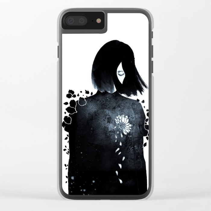 running out of patience Clear iPhone Case