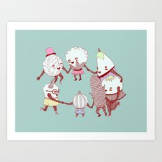 THE PARTY Art Print