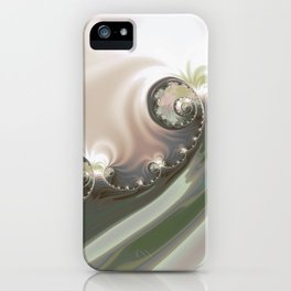 ABSTRACT.MERGER iPhone Case