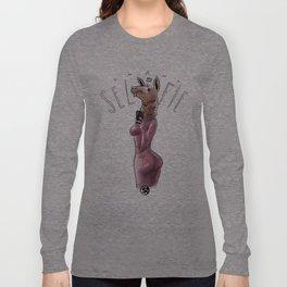 Seflie (NSFW) Long Sleeve T-shirt