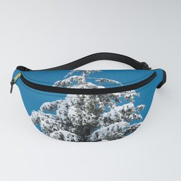 Winter Forest Fir Tree Snow X - Nature Photography Fanny Pack