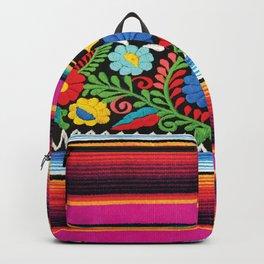 Pink Serape  Backpack