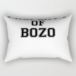 01857 Property of BOZO Rectangular Pillow