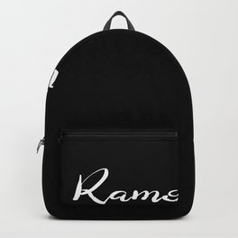 Ramontisch Romantic Romance Love Attention Valentine's Day Backpack