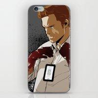dexter iPhone & iPod Skins featuring Dexter by Elena Casagrande