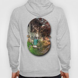 Abandoned agricultural vehicle | conceptual photography Hoody